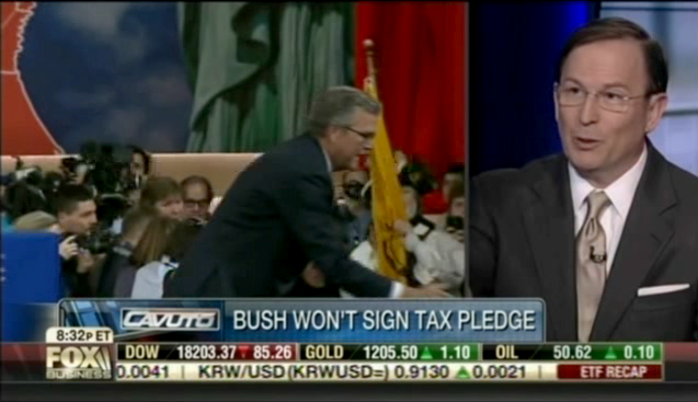 "Jeb Bush Doesn't Sign ""No Tax Hikes"" Pledge"