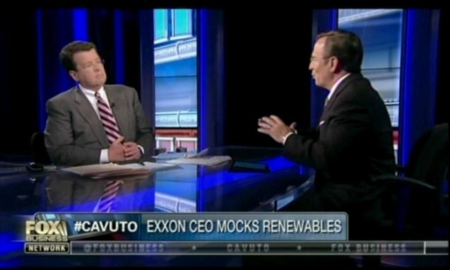 Exxon CEO Mocks Renewables