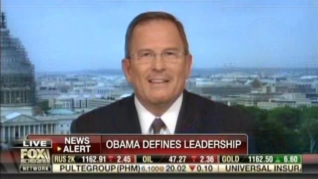 Obama Defines Leadership